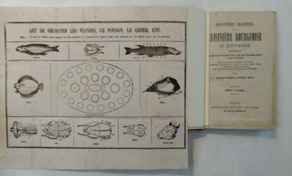 [BRESSEVILLE (H. de)] Nouveau manuel de la cuisinière bourgeoise et économique, contenant...