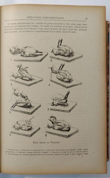 CORDON-BLEU (Le). — BARTHÉLEMY (F.) Les Menus expliqués de cuisine pratique. Recueil...