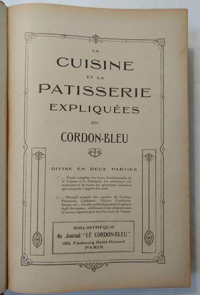 CORDON-BLEU (Le). — BARTHÉLEMY (F.)