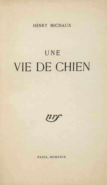 MICHAUX Henri