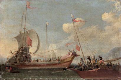 Attribué à Cornelis de WAEL (1592-1667)