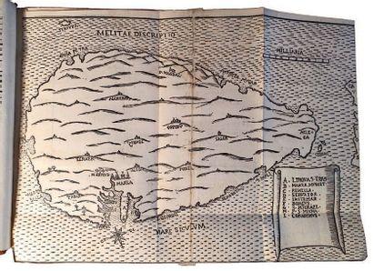 MALTE. - Précieux recueil sur Malte, comprenant...