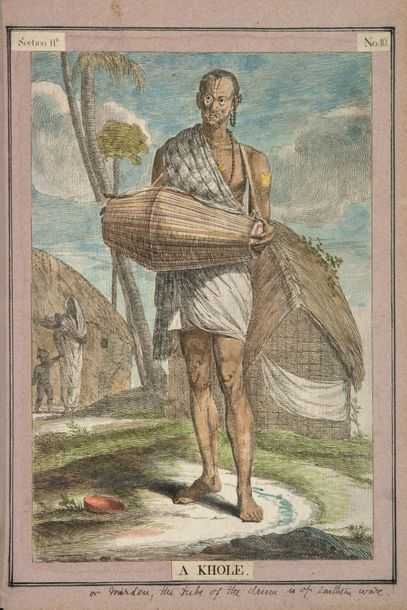 SOLVYNS (Frans Balthazar). A Collection of Two-Hundred and Fifty Coloured Etchings....