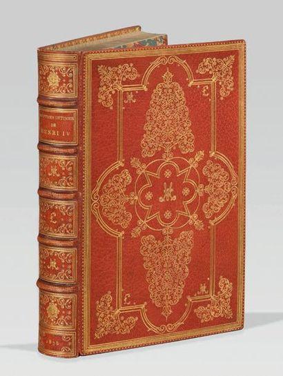 HENRI IV. Lettres intimes. Avec une introduction...