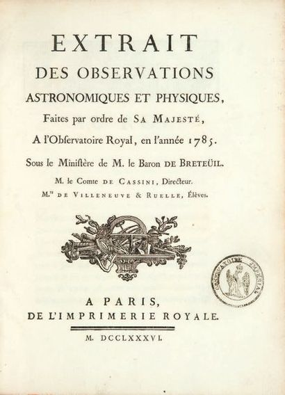 Cassini (Jean-Dominique).