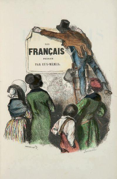 FRANÇAIS PEINTS PAR EUX-MÊMES (Les). Encyclopédie...