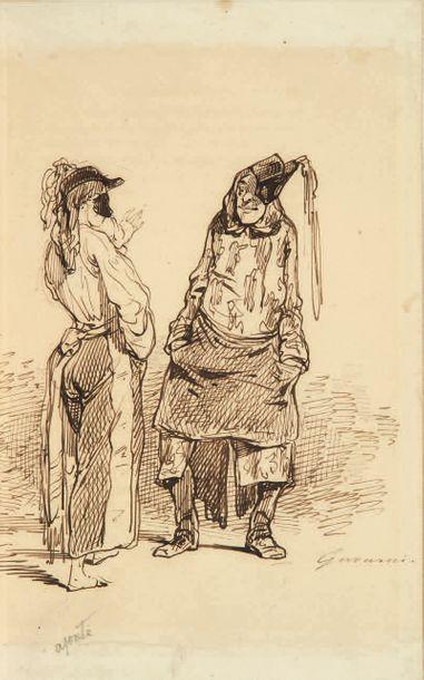GAVARNI. - GONCOURT (Edmond et Jules de).