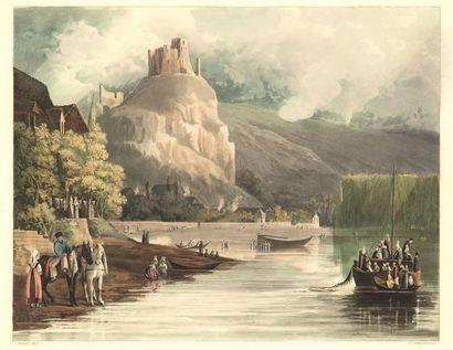 SAUVAN (J. B.). Description de vingt-quatre vues prises le long de la Seine depuis...