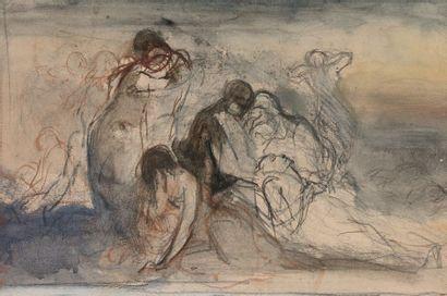 Attribué à Narcisse DIAZ (1807-1876)