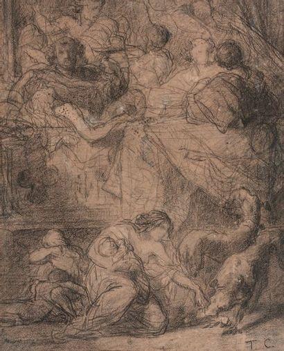 ENTOURAGE DE THOMAS COUTURE (1815-1879)