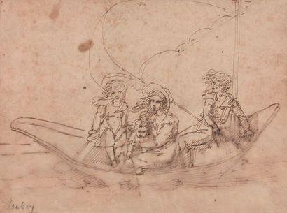 ENTOURAGE DE JEAN-BAPTISTE ISABEY (1767-1855)
