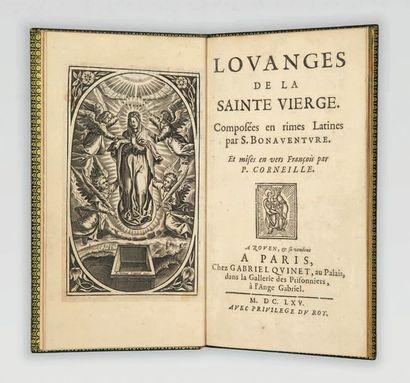 Louanges de la sainte Vierge. Composées en...