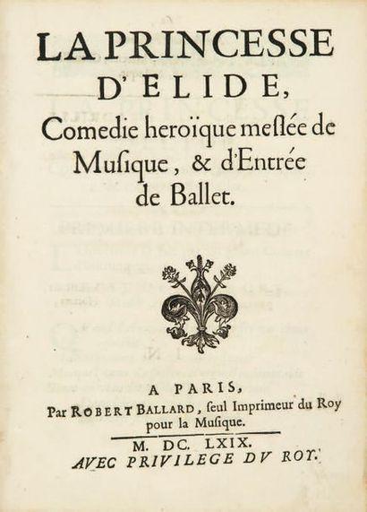 La Princesse d'Elide, Comédie héroïque meslée...
