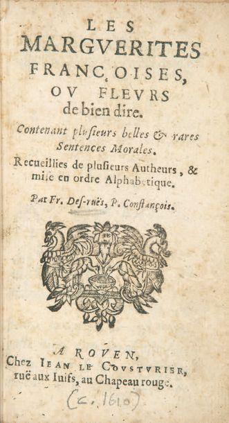 DES RUES (François)