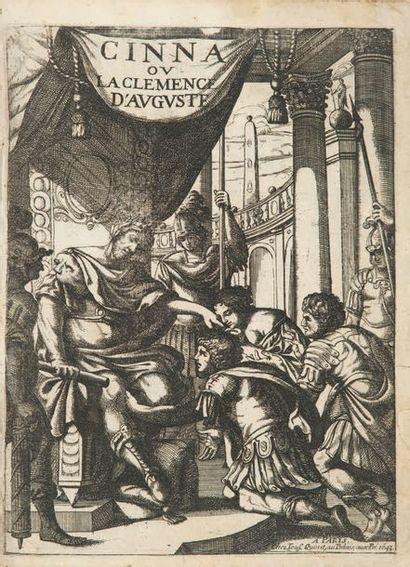Cinna ou la Clémence d'Auguste. Tragédie. Imprimé à Roüen aux despens de l'Autheur,...