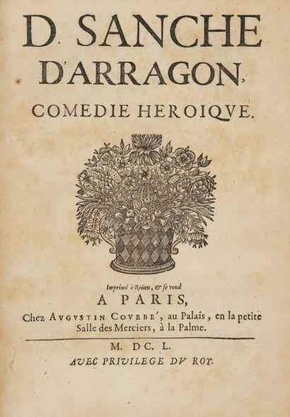 D. Sanche d'Arragon. Comédie héroïque. Imprimé à Rouen et se vend à Paris, Augustin...