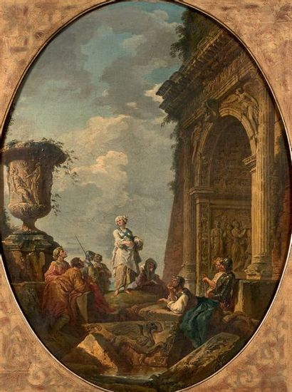 Giovanni Paolo PANINI (Plaisance 1691 - Rome 1765)