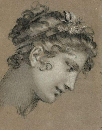 Attribué à Pierre-Paul PRUD'HON (Cluny 1758-1823 Paris)