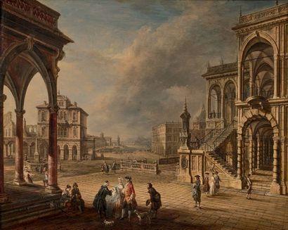 SCHUZ***, École AUTRICHIENNE du XVIIIe siècle