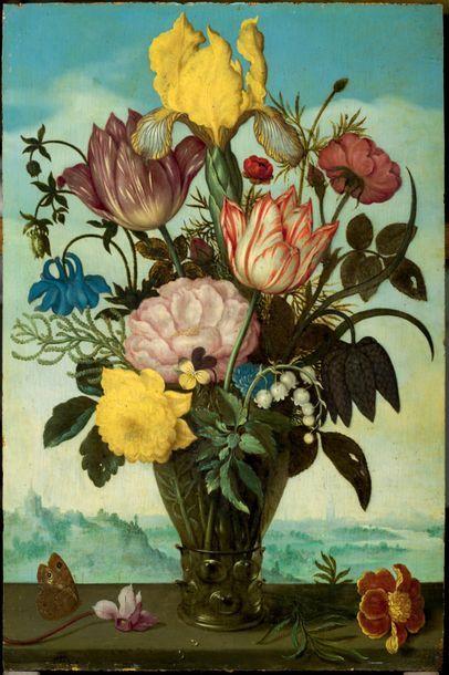 Ambrosius BOSSCHAERT le vieux (Anvers 1573 – La Haye 1621)