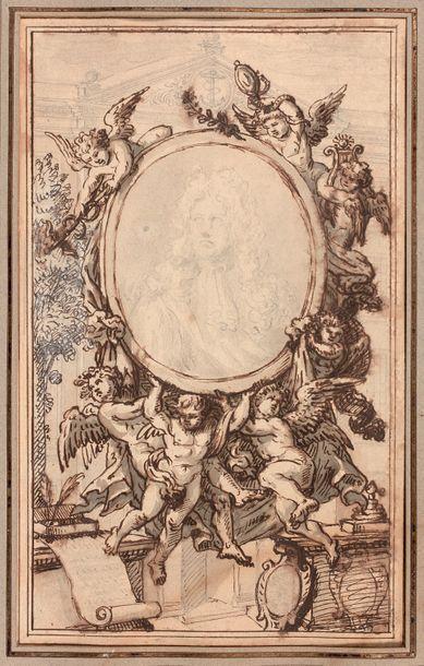 Attribué à James THORNHILL (1675 ou 1676-1734)