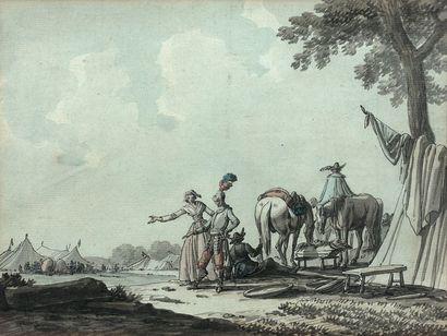 Jacques SWEBACH-DESFONTAINES, attribué à (1769-1823)