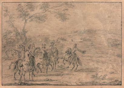 Atelier de Adam Franz van der MEULEN (1632-1690)
