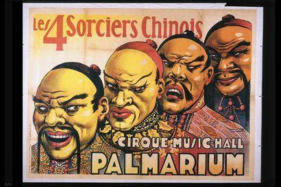 LES QUATRE SORCIERS CHINOIS.