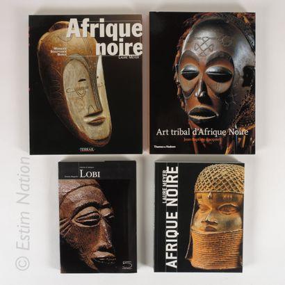 LOT DE LIVRES Ensemble de 4 livres sur le thème de l'ART AFRICAIN    (Sans garantie...