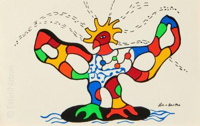 Niki de SAINT PHALLE (1930  2002)