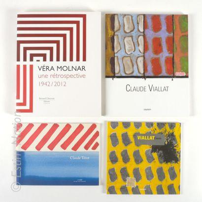 LOT DE LIVRES Ensemble de 9 livres sur le thème de l'ART CONTEMPORAIN.    (Sans garantie...