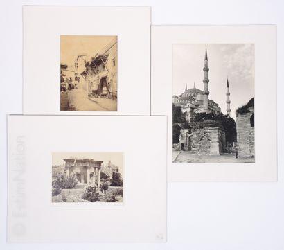 PHOTOGRAPHIES - ALGERIE ET DIVERS