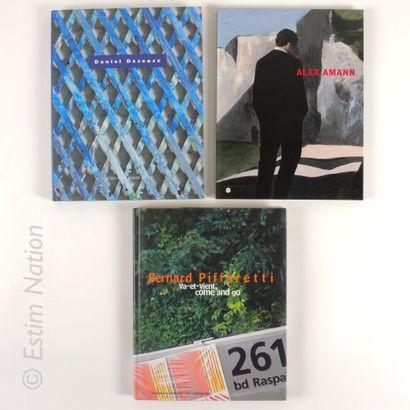 LOT DE LIVRES Ensemble de 6 livres sur le thème de l'ART CONTEMPORAIN    (Sans garantie...