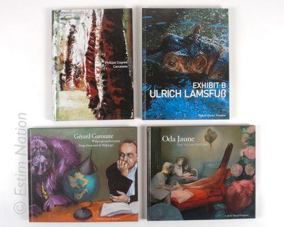 LOT DE LIVRES Ensemble de 8 livres sur le thème de l'ART CONTEMPORAIN. Galerie DANIEL...