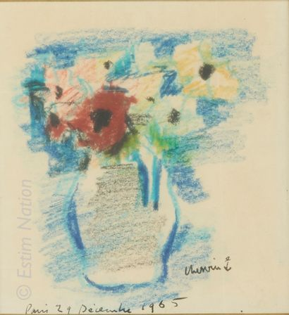 ART CONTEMPORAIN - CHERVIN