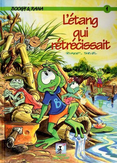 """FRANQUIN, ANDRÉ (1924-1996) Magnifique dessin original sur papier libre de """"Gaston..."""