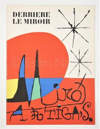 DERRIERE LE MIROIR N° 87 - 88 - 89 - MIRO - ARTIGAS - 1956