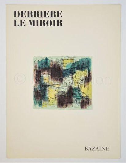 DERRIERE LE MIROIR - N° 96 - 97 - BAZAINE - 1957