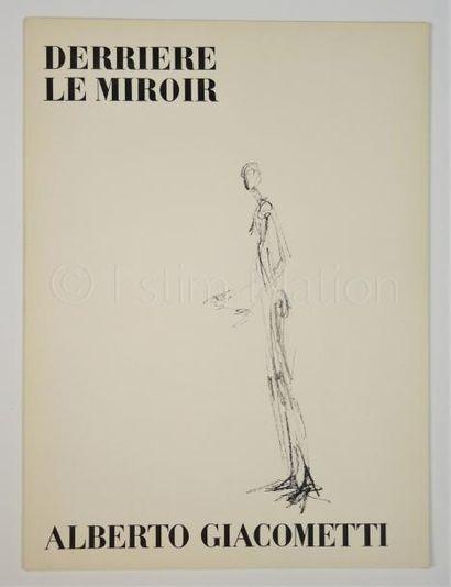 DERRIERE LE MIROIR - N° 98 - GIACOMETTI - 1957