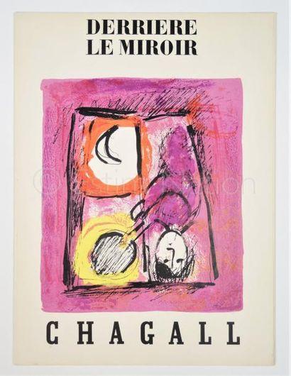 DERRIERE LE MIROIR  N° 99 - 100- CHAGALL - 1957
