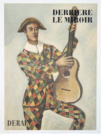 DERRIERE LE MIROIR N° 111 - DERAIN - 1958