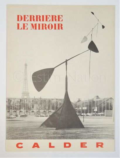 DERRIERE LE MIROIR - N° 113 - CALDER - 1959