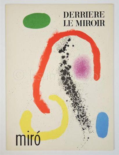 DERRIERE LE MIROIR N° 125 - 126 -  MIRO - 1961
