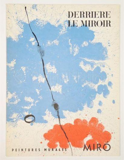 DERRIERE LE MIROIR N° 128 - MIRO - 1961