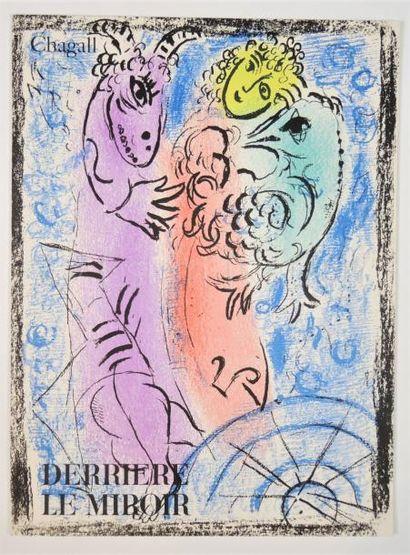DERRIERE LE MIROIR  N° 132 - CHAGALL - 1962 - SIGNÉ