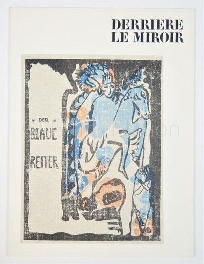 DERRIERE LE MIROIR  N° 133 - 134 - KANDINSKY - 1962
