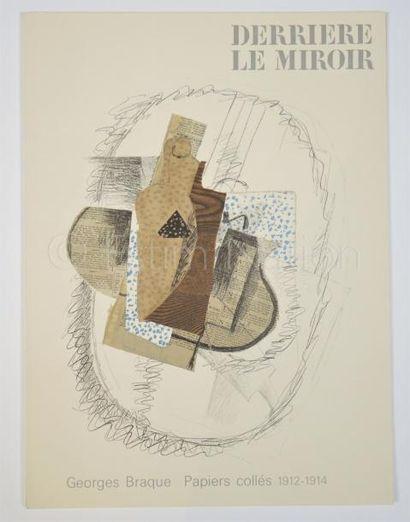 DERRIERE LE MIROIR - N° 138 - BRAQUE - 1963.