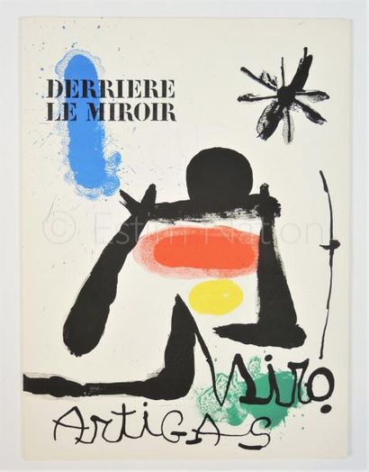 DERRIERE LE MIROIR- N° 139 -140 - MIRO - 1963 - SIGNÉ