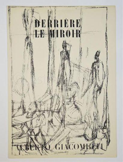 DERRIERE LE MIROIR N° 39 - 40- GIACOMETTI -1951