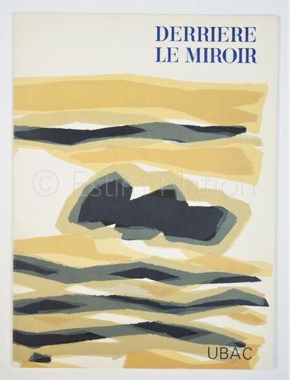 DERRIERE LE MIROIR  N° 142 - UBAC - 1964 - SIGNÉ